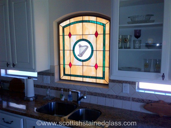 Kitchen | Salt Lake City Stained Glass | Custom Stained ...