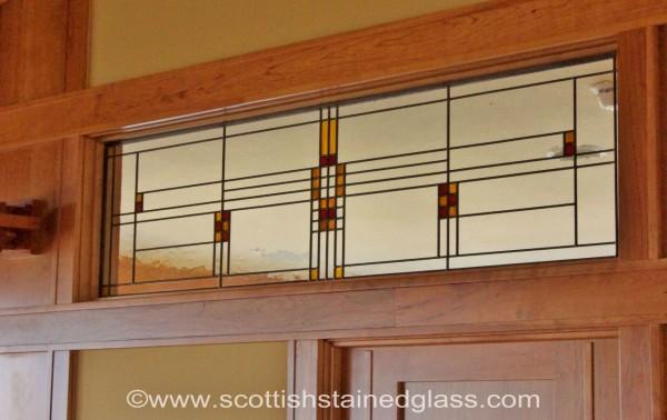 Frank Lloyd Wright Stained Glass Salt Lake City Salt
